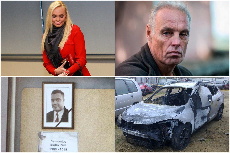 Kaune vyksta vieno Agurkinių gaujos lyderių D.Bugavičiaus žudikų teismas. Pirmadienš buvo apklaustas smogikų gaujos vadeiva iš Estijos I.Arakas.<br>Lrytas.lt koliažas