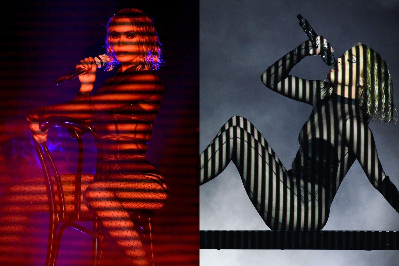 Beyonce ir Jennifer Lopez.<br>lrytas.lt montažas.