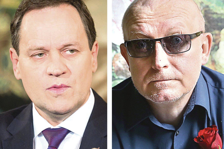 V.Tomaševskis (nuotr. kairėje) nenorėjo plačiau komentuoti A.Valinsko samprotavimų apie šiam esą kilusią grėsmę.<br>T.Bauro, R.Danisevičiaus nuotr.
