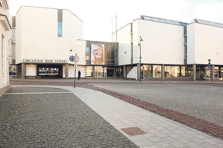 Viena tokių įstaigų, kurioms buvo skirtas finansavimas, – Šiuolaikinio meno centras (ŠMC), esantis sostinės Rotušės aikštėje.<br>LR archyvo nuotr.