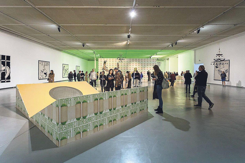 Po kapitalinio remonto Šiuolaikinio meno centras iš išorės atrodys taip pat kaip ir dabar – architektūra nesikeis.<br>LR archyvo nuotr.