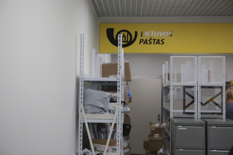 Paštas, siuntiniai, siuntos, Lietuvos paštas<br>G.Bitvinsko nuotr.