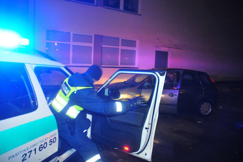 Policija nustatė du jaunus vandalus, suniokojus bendruomenės poilsio zoną.<br>A.Vaitkevičiaus asociatyvioji nuotr.