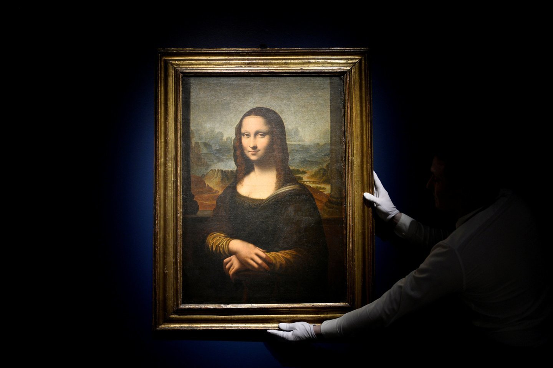 """Leonardo da Vinci """"Monna Lisa"""" – žinomiausias paveikslas pasaulyje, italų renesanso šedevras, nutapytas 1503–1506 metais.<br>Reuters / Scanpix nuotr."""