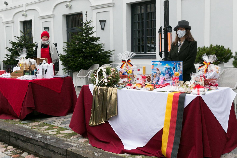Kalėdų mugės atidarymas.<br>T.Bauro nuotr.