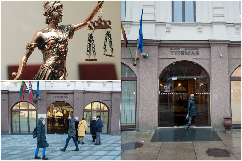 Kauno apylinkės teismo savanoriai papasakojo apie savo darbą, įspūdžius, norą padėti žmonėms.<br>Lrytas.lt koliažas
