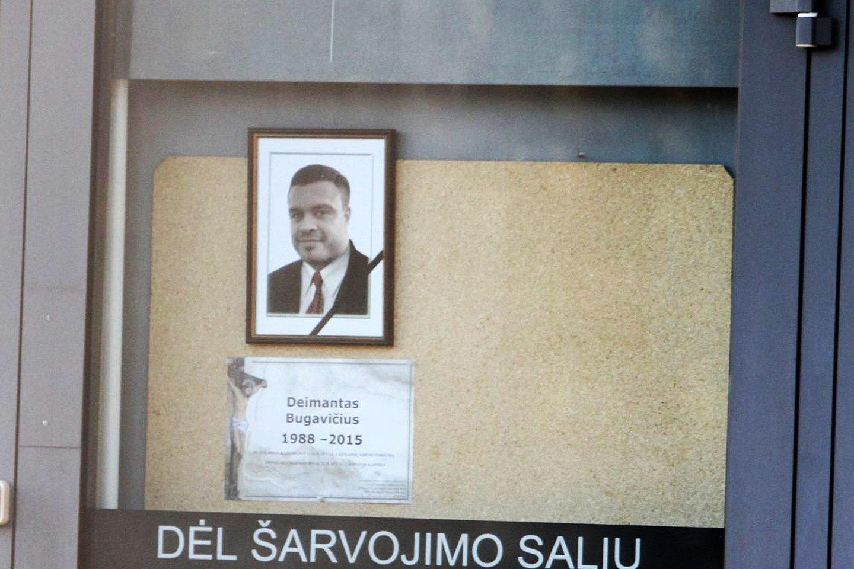 D.Bugavičius nuo žudiko kulkų krito prieš penkerius metus.<br>M.Patašiaus nuotr.