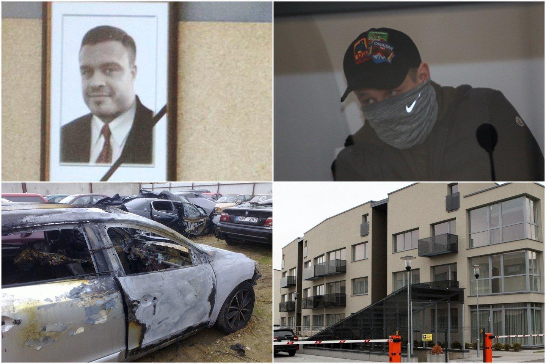D.Bugavičiaus nužudymo aplinkybes mėginama ištirti Kauno apygardos teisme.<br> Lrytas.lt koliažas.