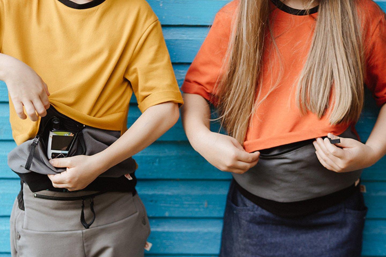 Kolekcijoje yra ir tamprių, ir kelnių, šortų, sijonų, marškinėlių ilgomis ar trumpomis rankovėmis.<br>Asmeninio albumo nuotr.