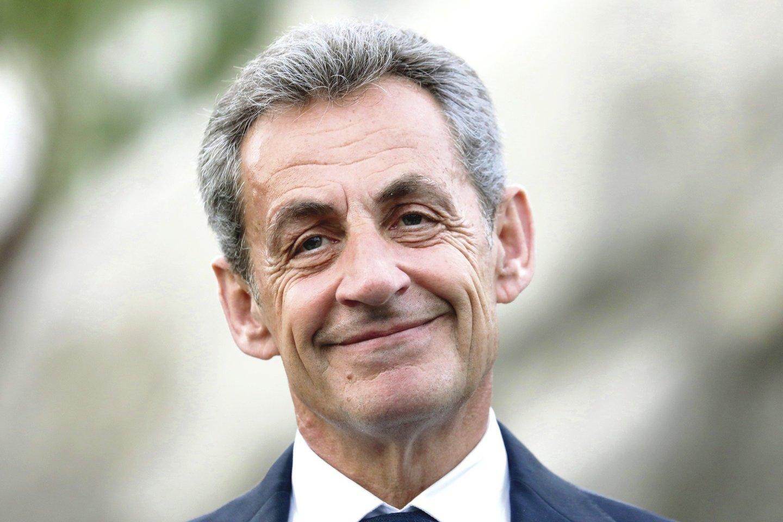 Nicolas Sarkozy<br>scanpix nuotr.