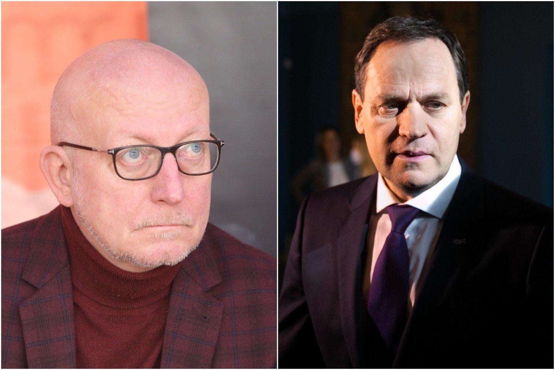 Apie tokių kaip V.Tomaševskis šaudymą prakalbęs A.Valinskas sukėlė didelį skandalą.<br>lrytas.lt koliažas.