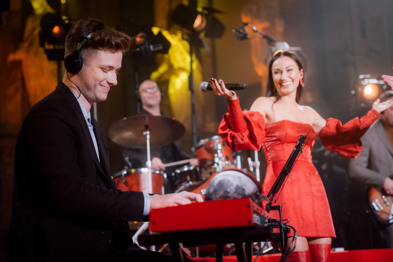 "Koncerto ""Džiaze tik merginos"" Vilniuje spalio 11 dieną akimirka.<br>R.Šeškaičio nuotr."