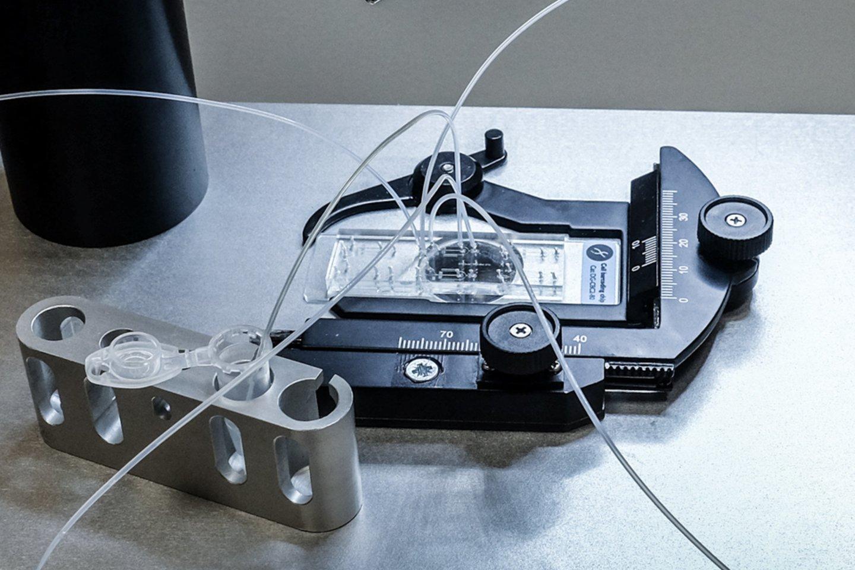 """""""Droplet Genomics"""" komandos kuriamos mikroskysčių sistemos."""