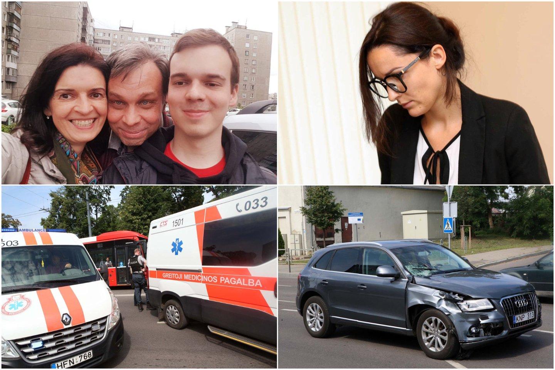 Kaune per avariją žuvusio A.Stoletovo tėvai teigė, jog sūnaus žūties byloje iki galo.<br>Lrytas.lt koliažas