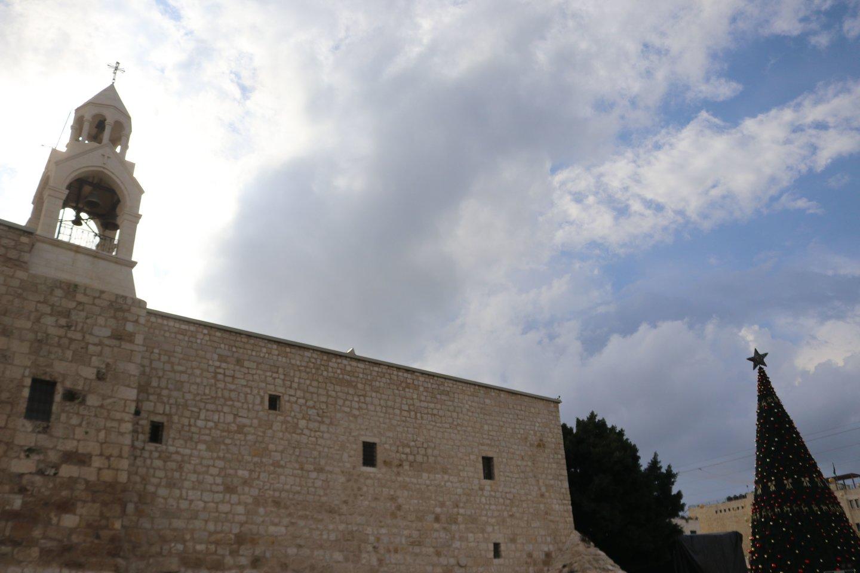 Betliejuje Jėzaus Kristaus Gimimo mišios vyks be tikinčiųjų. <br>SIPA/Scanpix nuotr.