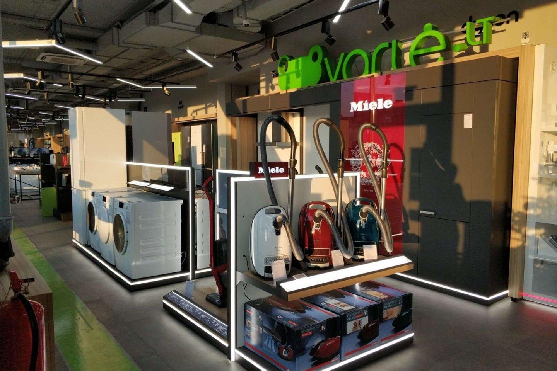 """""""Varlė.lt"""" tapo oficialiu vokiškos buitinės technikos gamintojos """"Miele"""" partneriu.<br>Organizatorių nuotr."""