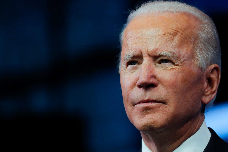JAV Rinkikų kolegija patvirtino J. Bideno pergalę.<br>Reuters/Scanpix nuotr.