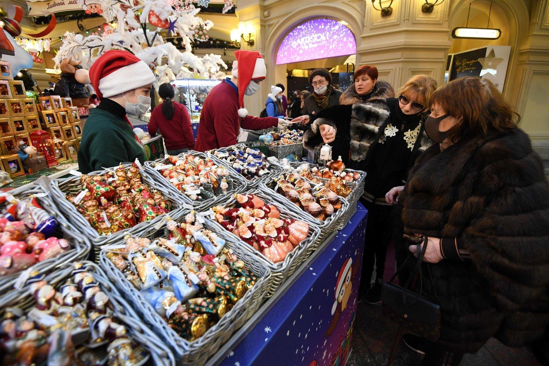 Rusijos valdžia susirūpino pakilusiomis cukraus ir aliejaus kainomis.<br>AFP/Scanpix nuotr.