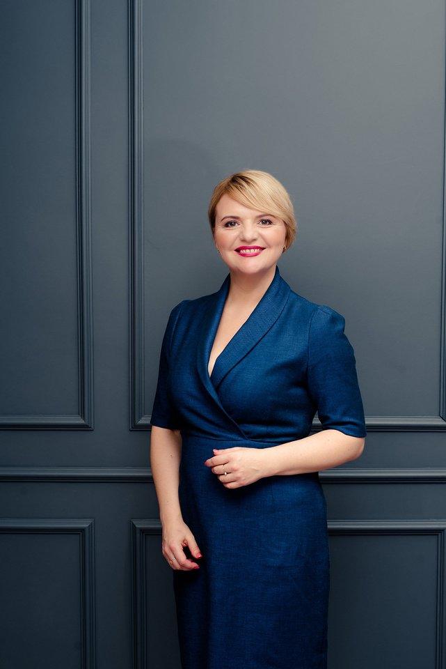 """NT projektų valdymo įmonės """"Citus"""" pardavimų vadovė Andželika Keršytė."""