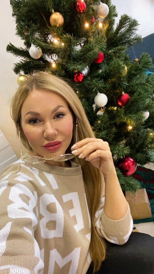 Gintarė Eimantaitė nupirko dovanų vaikų dienos centrų lankytojams.<br>Asmeninio albumo nuotr.