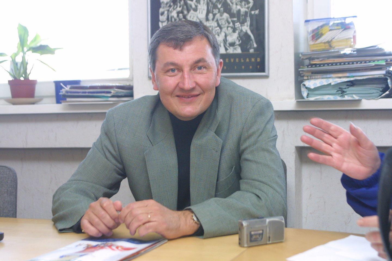 J.Kazlauskas 2001-aisiais.<br>P.Lileikio nuotr.