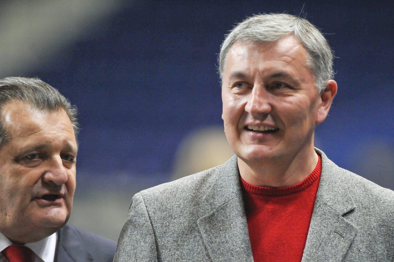J.Kazlauskas ir Š.Kalmanovičius. 2008-ieji.<br>V.Ščiavinsko nuotr.
