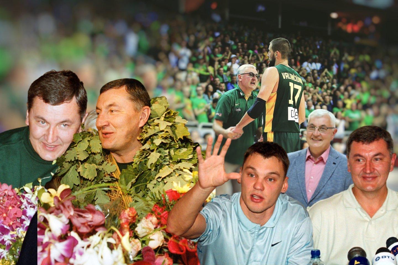 J.Kazlauskas apžvelgė Lietuvos sporto metus.<br>lrytas.lt montažas.