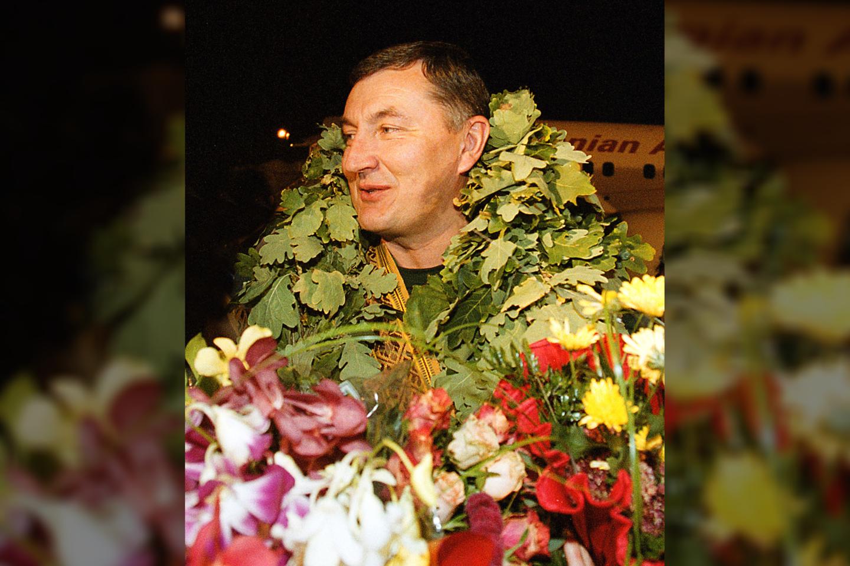 J.Kazlauskas po 2000 metų olimpinių žaidynių.<br>P.Lileikio nuotr.