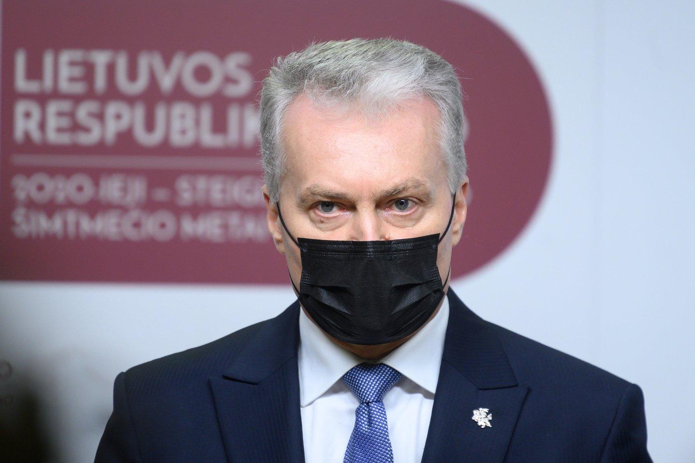 G.Nausėda.<br>V.Skaraičio nuotr.