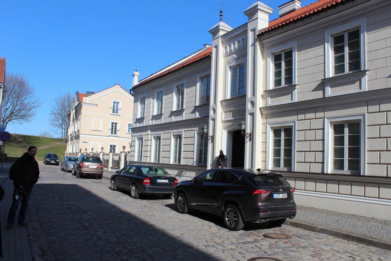 Buvusios Grįžgatvio žydų mokyklos pastatas.<br>G.Pilaičio nuotr.