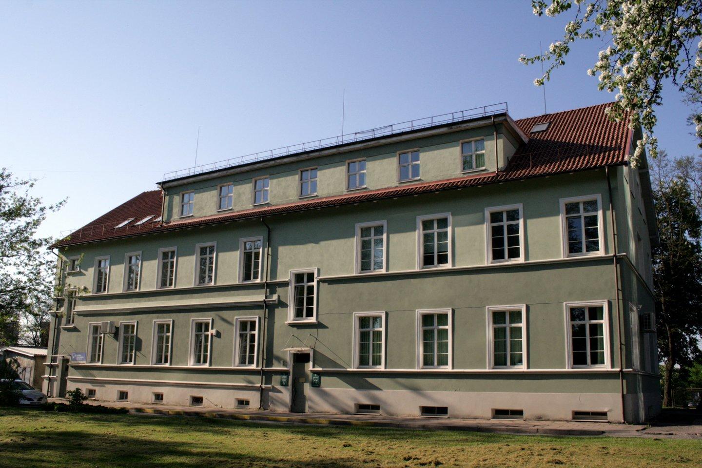 Buvusi žydų ligoninė Galinio Pylimo gatvėje.<br>G.Pilaičio nuotr.