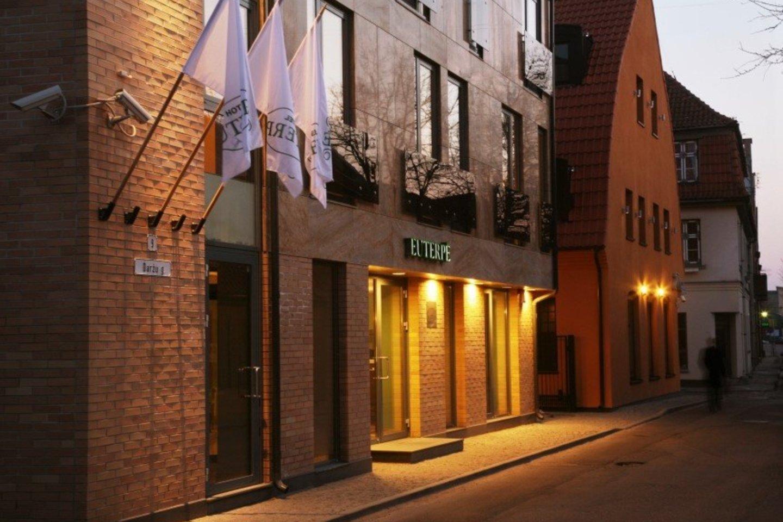 Žydų maldos namų vietoje įkurtas viešbutis.