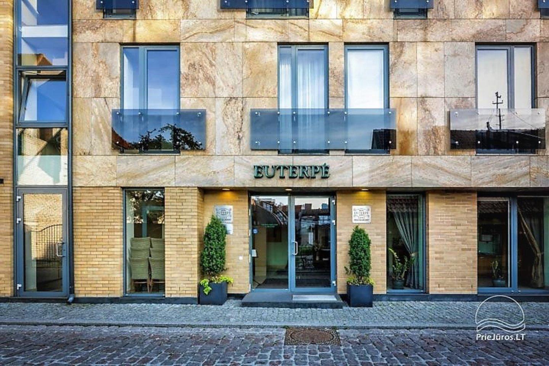 """Sinagogos vietoje iškilo viešbutis """"Euterpė"""".<br>G.Pilaičio nuotr."""