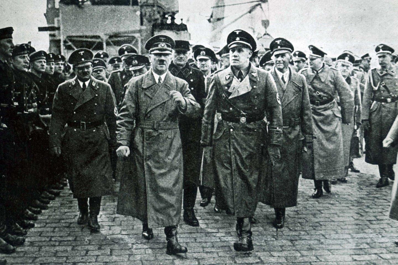 Reicho vadas Adolfas Hitleris Klaipėdoje (1939).<br>Klaipėdos apskrities bibliotekos AdM archyvas.