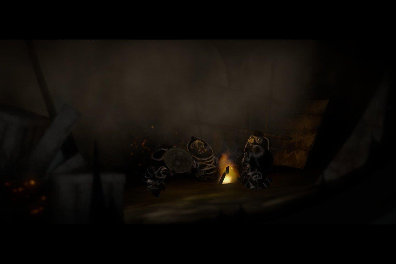 Iñupiatai irgi pažįsta nykštukus, tik žinoma, jie ne europietiškos išvaizdos.<br>Žaidimo ekrano nuotr.