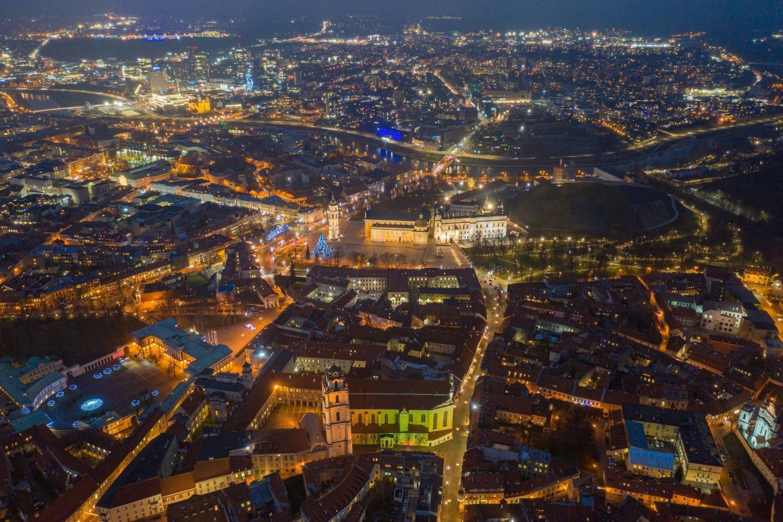 Per 2020 metus sostinėje gyvenamą vietą deklaravo dar 10 tūkst. naujų vilniečių.<br>S.Žiūros nuotr.