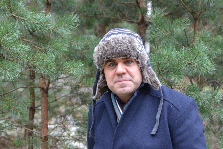 """J..Žitkauskas: """"Vis labiau brendame į leidybines pinkles.""""<br>R.Bagočiūno nuotr."""
