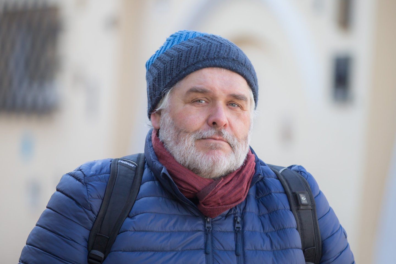 """T.Žvirinskis: """"Per tris 2020-ųjų metų vasaros mėnesius parašiau galutinį romano variantą.""""<br>R.Guigos nuotr."""