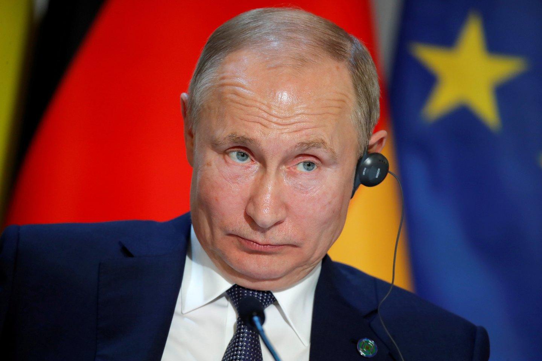 Vladimiras Putinas.<br>Reuters/Scanpix nuotr.