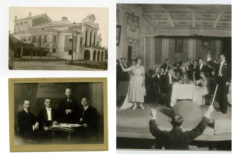 Lietuvių operos teatro istoriją pradėjo TRAVIATA.<br>LMTKM archyvo nuotr.