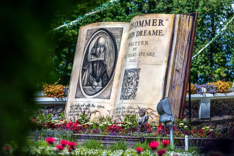 """Gėlių festivalis """"Vasarvidžio nakties sapnas"""".<br>Organizatorių nuotr."""