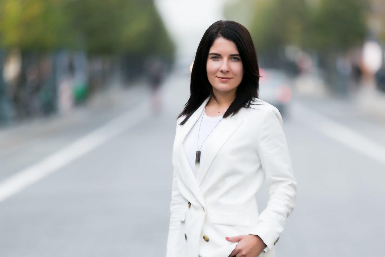 Lrytas.lt redaktoriaus pavaduotoja Greta Ališauskaitė<br>T.Bauro nuotr.