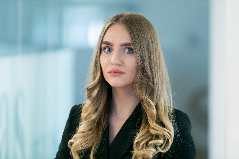 Aktualijų žurnalistė Agnė Černiauskaitė<br>T.Bauro nuotr.