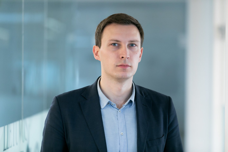 Naujienų redaktorius Martynas Suslavičius<br>T.Bauro nuotr.