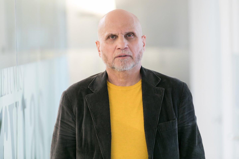 """""""Lietuvos ryto"""" vyriausiasis redaktorius Gedvydas Vainauskas<br>T.Bauro nuotr."""