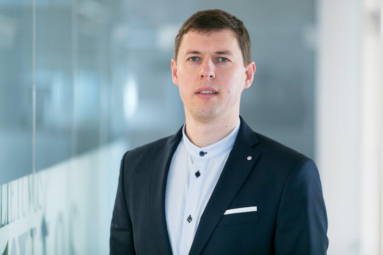 Lrytas.lt vyriausiasis redaktorius Tautvydas Mikalajūnas<br>T.Bauro nuotr.