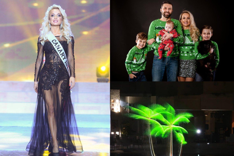 Tituluotos gražuolės ir trijų vaikų motinos K.Klimavičienės įkurta įmonė pristatė įspūdingą pasirodymą.