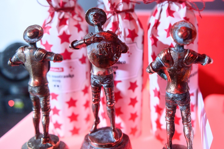 """Don Kichoto apdovanojimai """"Lietuvos ryto"""" laureatams skiriami jau nuo 2000 metų. Iš viso išdalinti 87 Don Kichotai.<br>V.Skaraičio nuotr."""