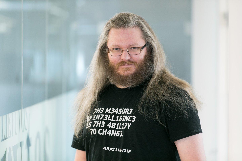 Lrytas.lt IT ir mokslo redaktorius Adomas Rutkauskas<br>T.Bauro nuotr.