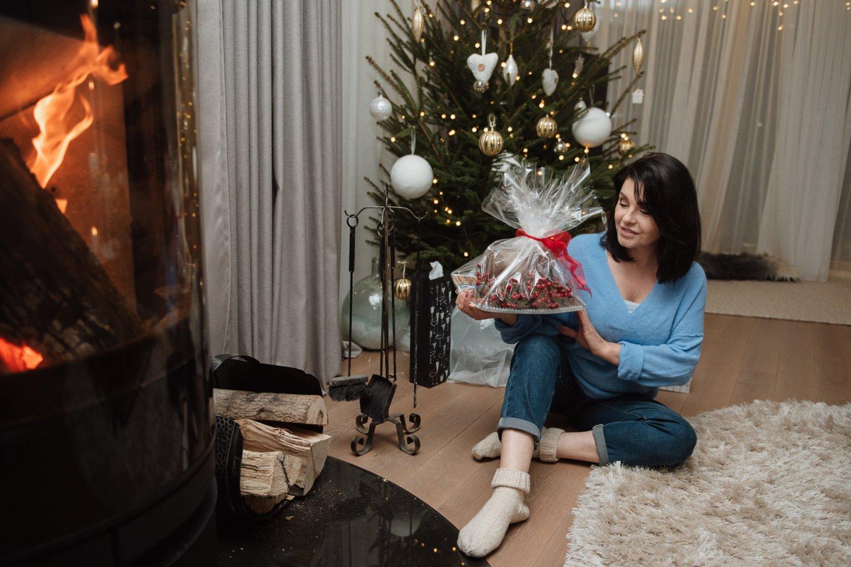 Pirmąją naujų metų dieną K.Kaikarienė švenčia gimtadienį.<br>Asmeninio albumo nuotr.